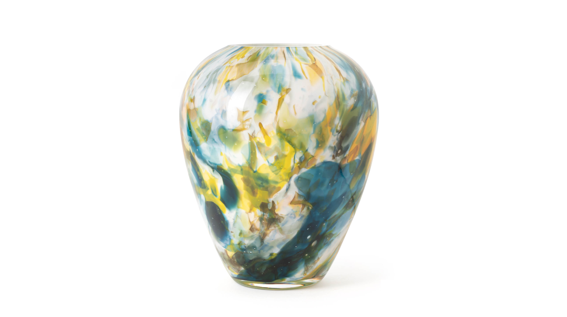 Fidrio Gekleurde vazen alore colori - H22 cm