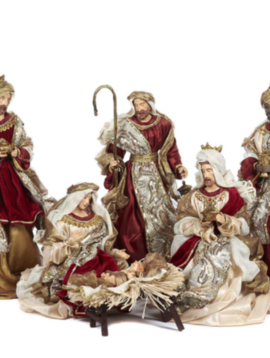Goodwill Nativity set