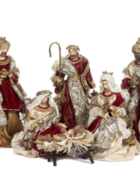 Goodwill Nativity set - H48 cm