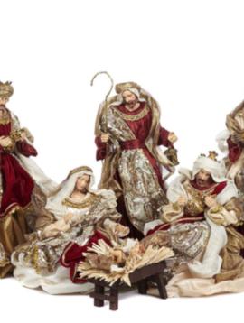 Goodwill Nativity figures