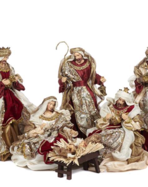 Goodwill Kerststal beelden - H38 cm