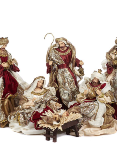 Goodwill Nativity figures - H38 cm
