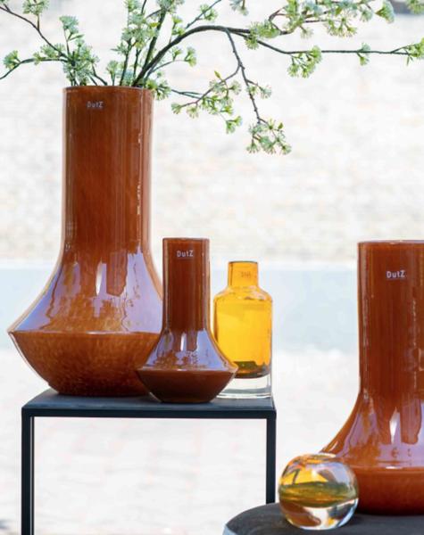 DutZ Vase Marco warm orange - H55 cm