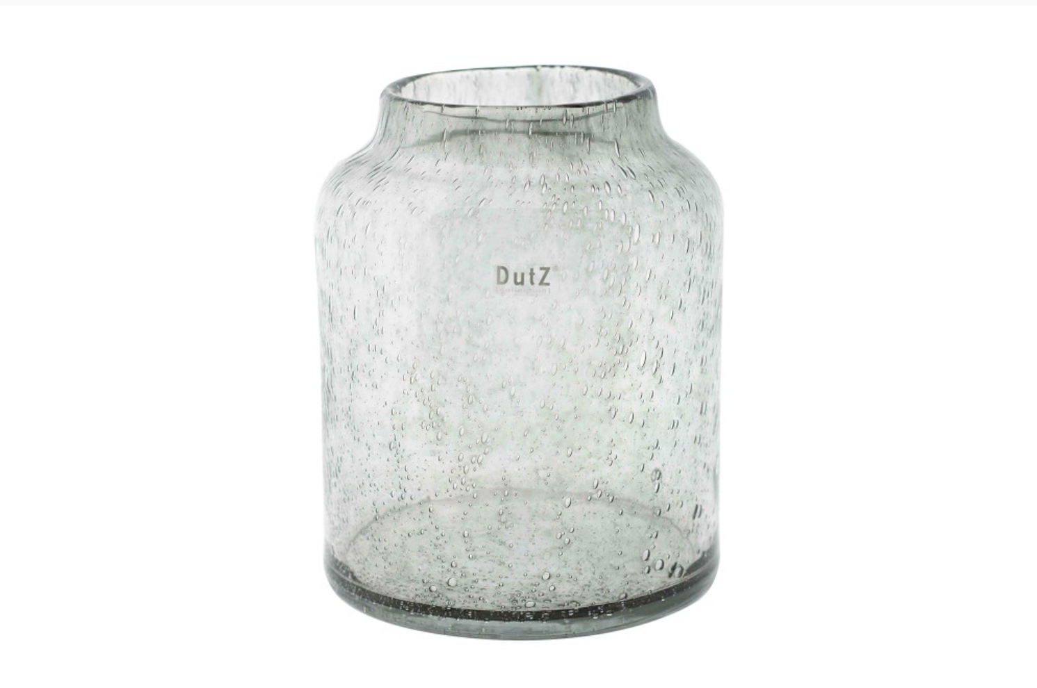 DutZ Barrel grey bubbles - H26 cm