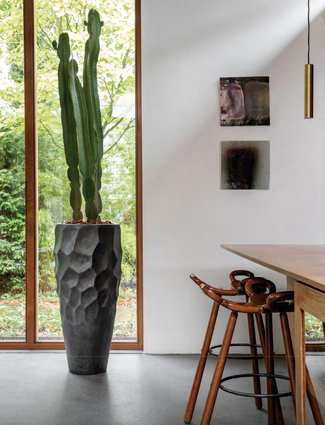 Design potten Santorini - H220 cm