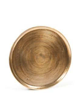 Golden wall plate