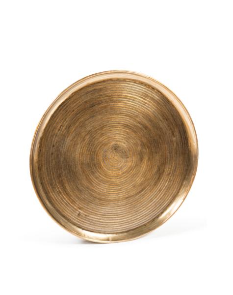 Golden wall plate - D90 cm