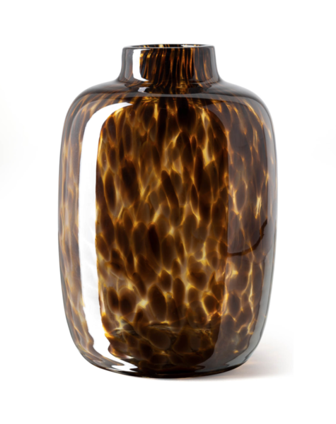 Fidrio Vase Toronto Leppard - H27 cm