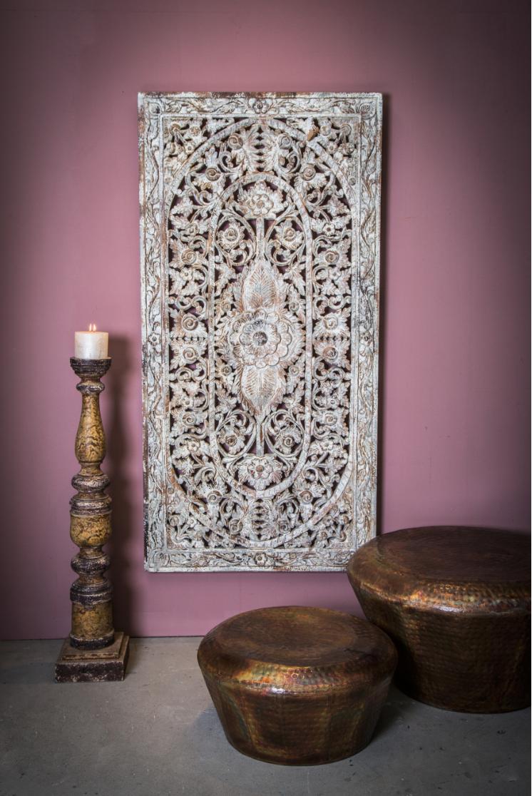 Decoration wood panel Venice - H186 cm