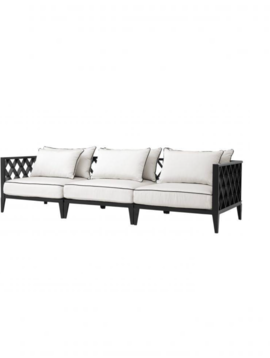 Eichholtz Sofa Ocean Club Black White