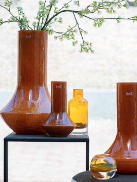 DutZ Orange vase Marco warm orange
