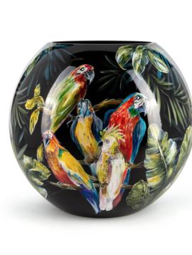 Fidrio Luxusvasen Parrots