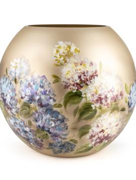 Fidrio Handbemalte Vasen Hortensia