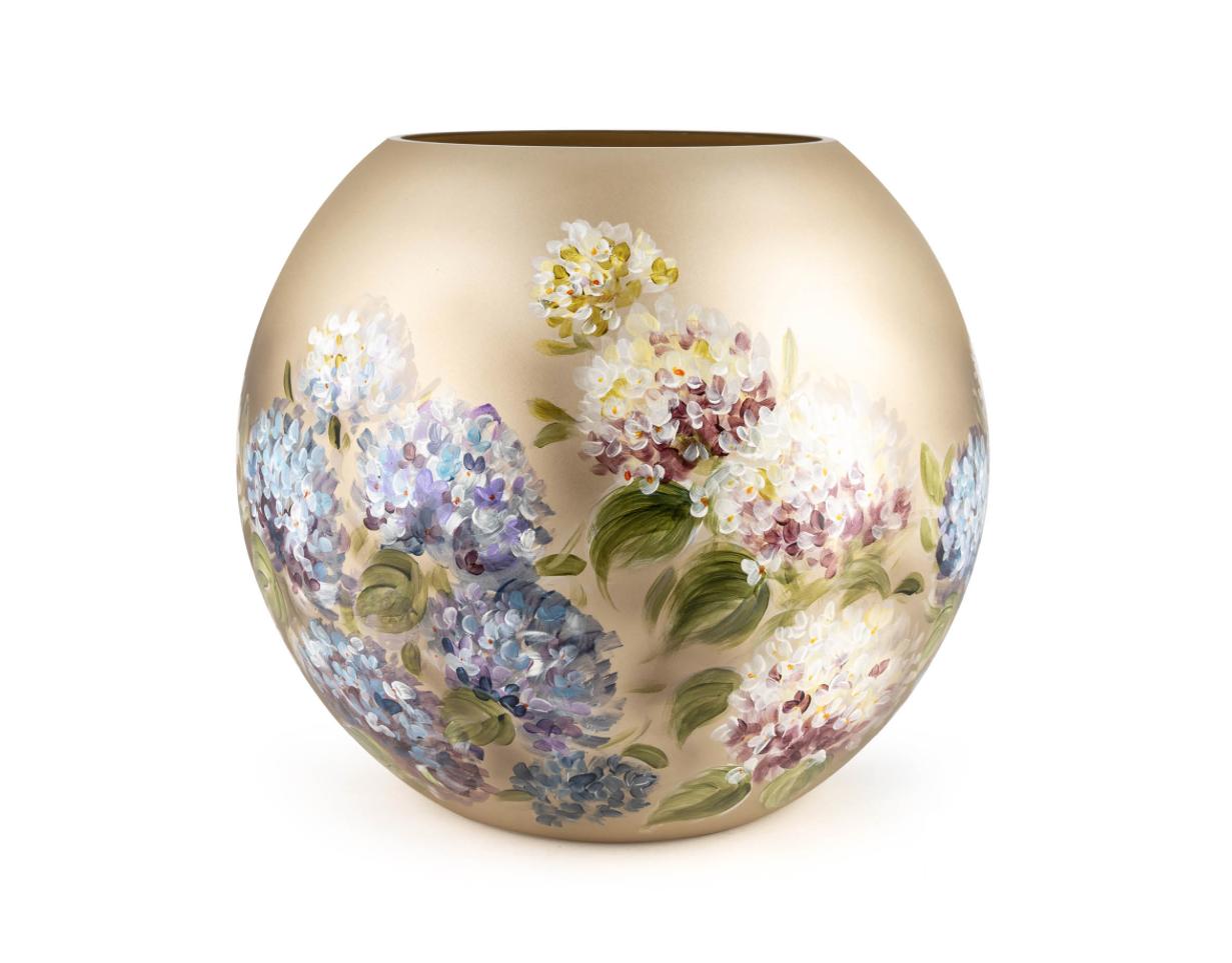 Fidrio Handpainted vases Hortensia - D40 cm
