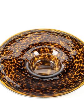 Fidrio Decorative plate Leppard