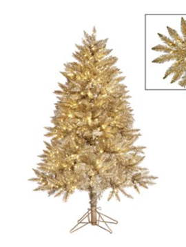 Goodwill Gold Christmas tree