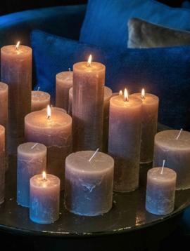 DutZ Candle rustic lightgrey