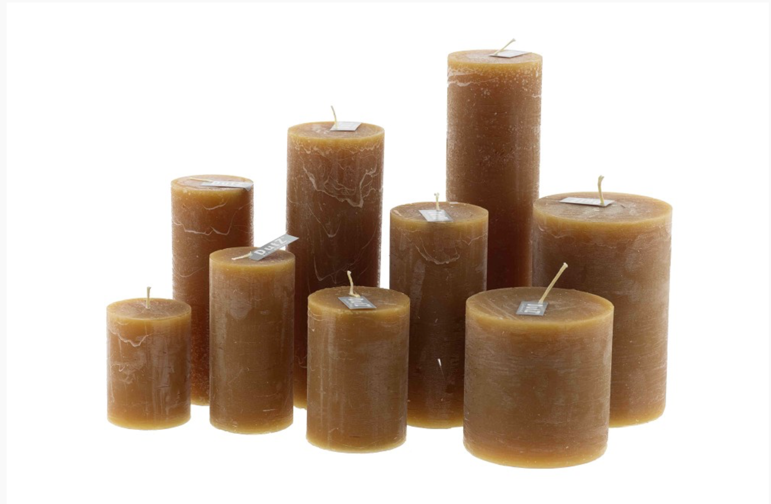 DutZ Candle rustic amber
