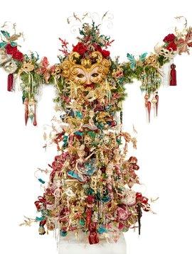 Goodwill Gedecoreerde kerstboom Garl