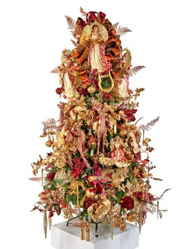 Goodwill Gedecoreerde kerstboom Religious