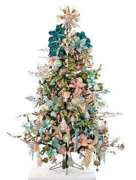 Goodwill Geschmuckter Weihnachtsbaum Treasures of the sea