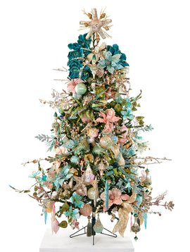 Goodwill Versierde kerstboom Treasures of the sea