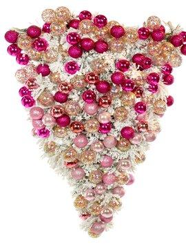 Goodwill Luxe kerstkrans Pink Heart