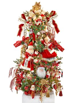 Goodwill Gedecoreerde kerstboom Santa's Home