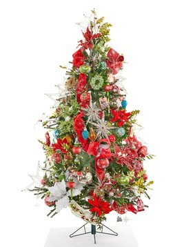 Goodwill Versierde kerstboom Mistletoe