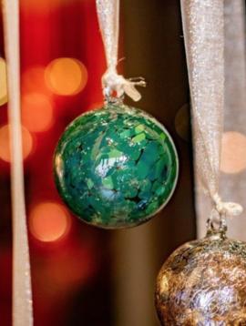 DutZ Weihnachtskugel darkgreen