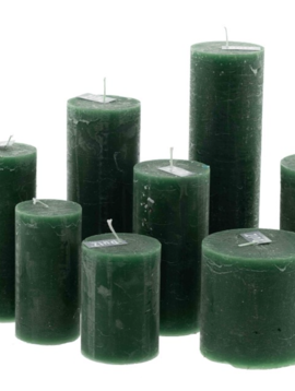 DutZ Candle rustic darkgreen