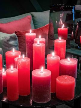 DutZ Rote Kerzen