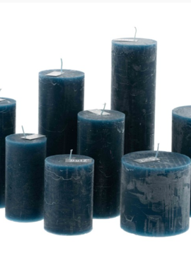 DutZ Candle rustic navy blue