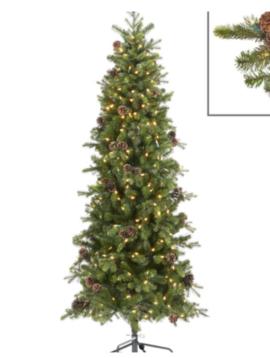 Goodwill Narrow artificial Christmas tree