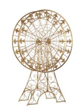 Goodwill Ferris wheel gold