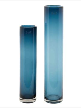 DutZ Blauwe vazen steelblue