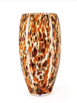 Fidrio Vase Oval Havanna