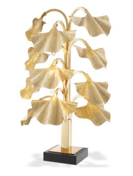 Eichholtz Tischlampe Gold Donati
