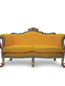 Gele sofa crazy versailles