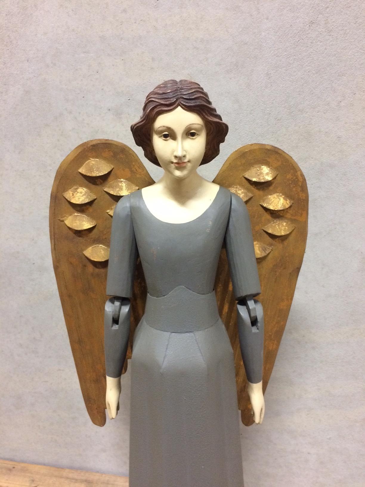 Large angel figurine - H78,5 cm