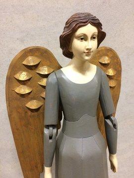 Large angel figurine