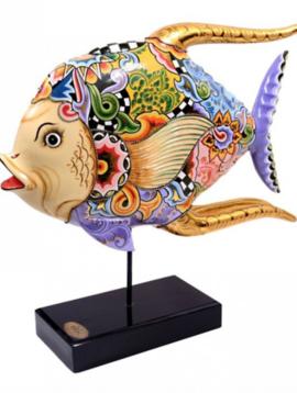 Fisch Figurine Purple Pride