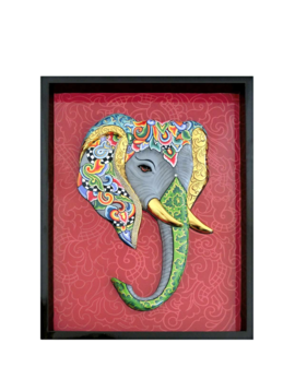 Elephant painting 3-D