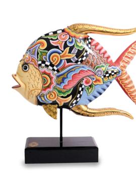 Fisch Skulptur Crazy Colors