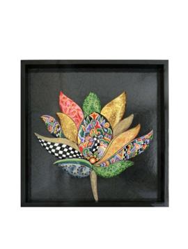 Schilderij lotus bloem