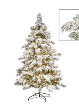 Goodwill Weihnachtsbaum mit Schnee