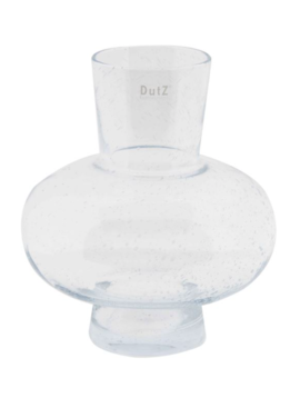 DutZ Vase clear bubbles