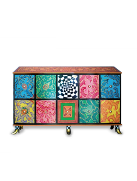 Design cupboard Crazy Colors