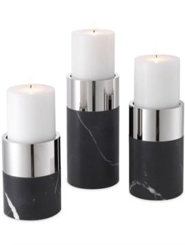 Eichholtz Kerzenhalter schwarz Sierra