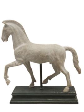 Pferd Figur True White